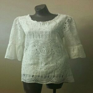 Simply Couture Women Lace Top Or Mini Dress
